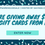 HP Warehouse Sale Gift Card Giveaway