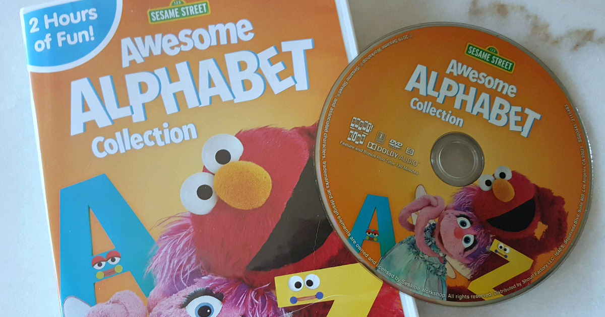 feature sesame street awesome alphabet dvd