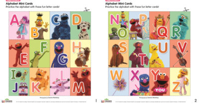 feature sesame street printable alphabet cards