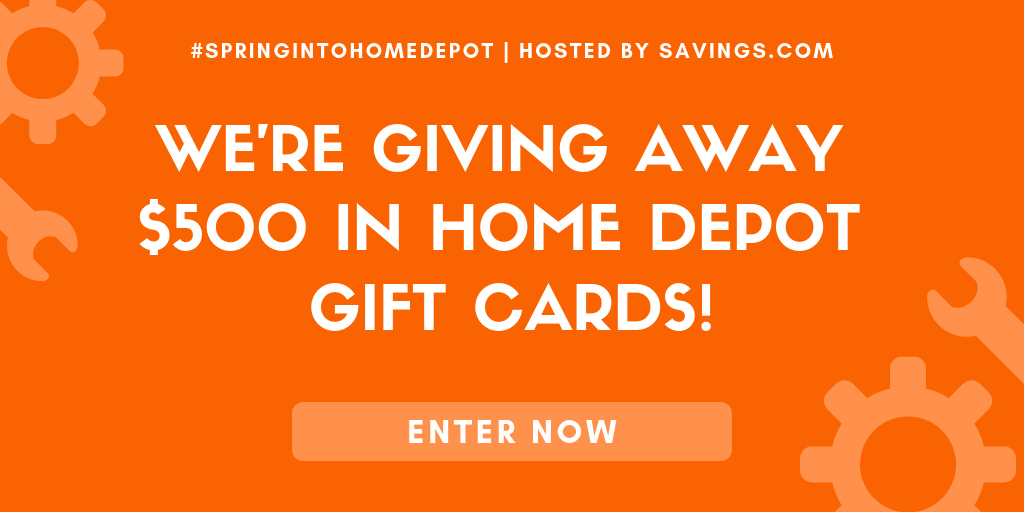 giveaway home depot gift card