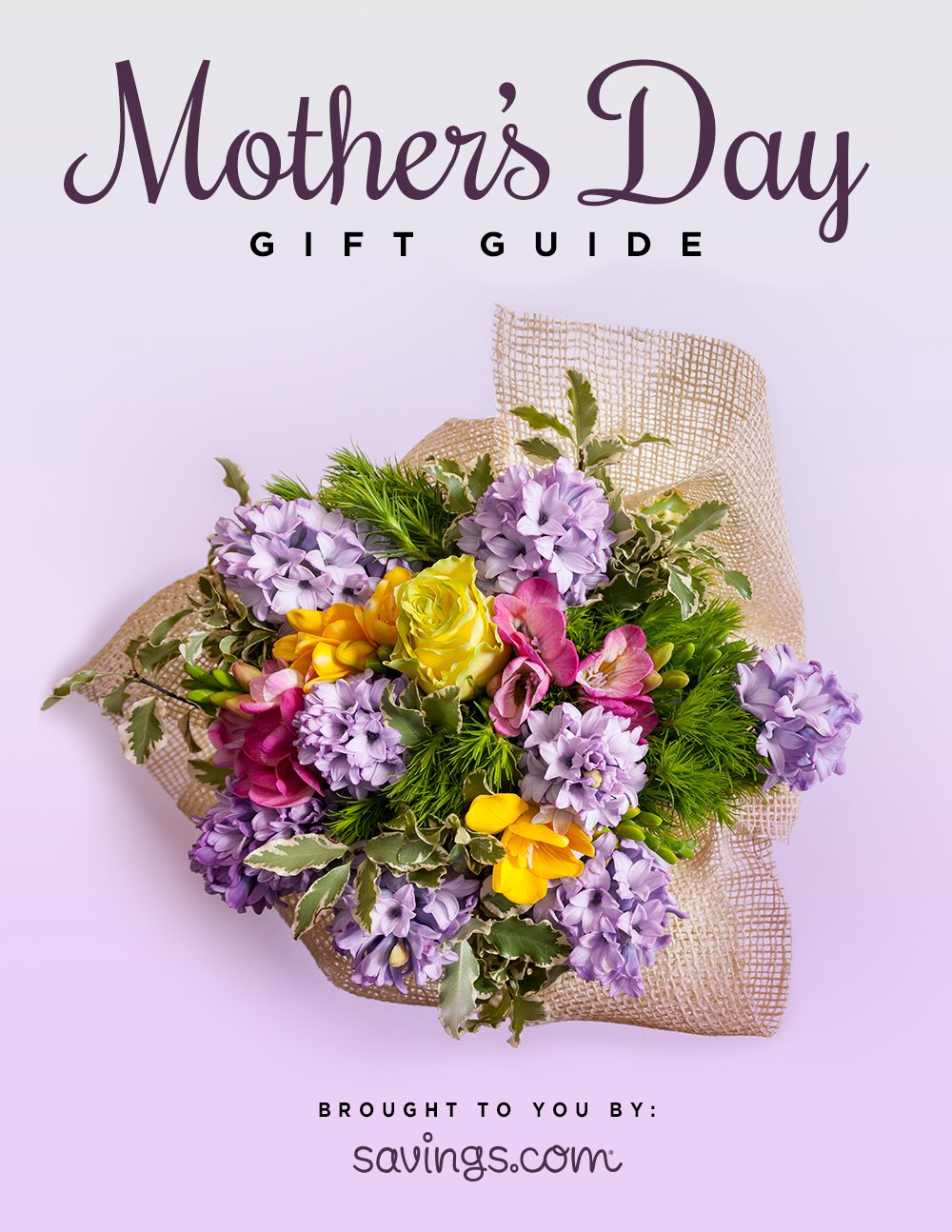 Mother's Day Gift Guide ad: #MothersDaySavings