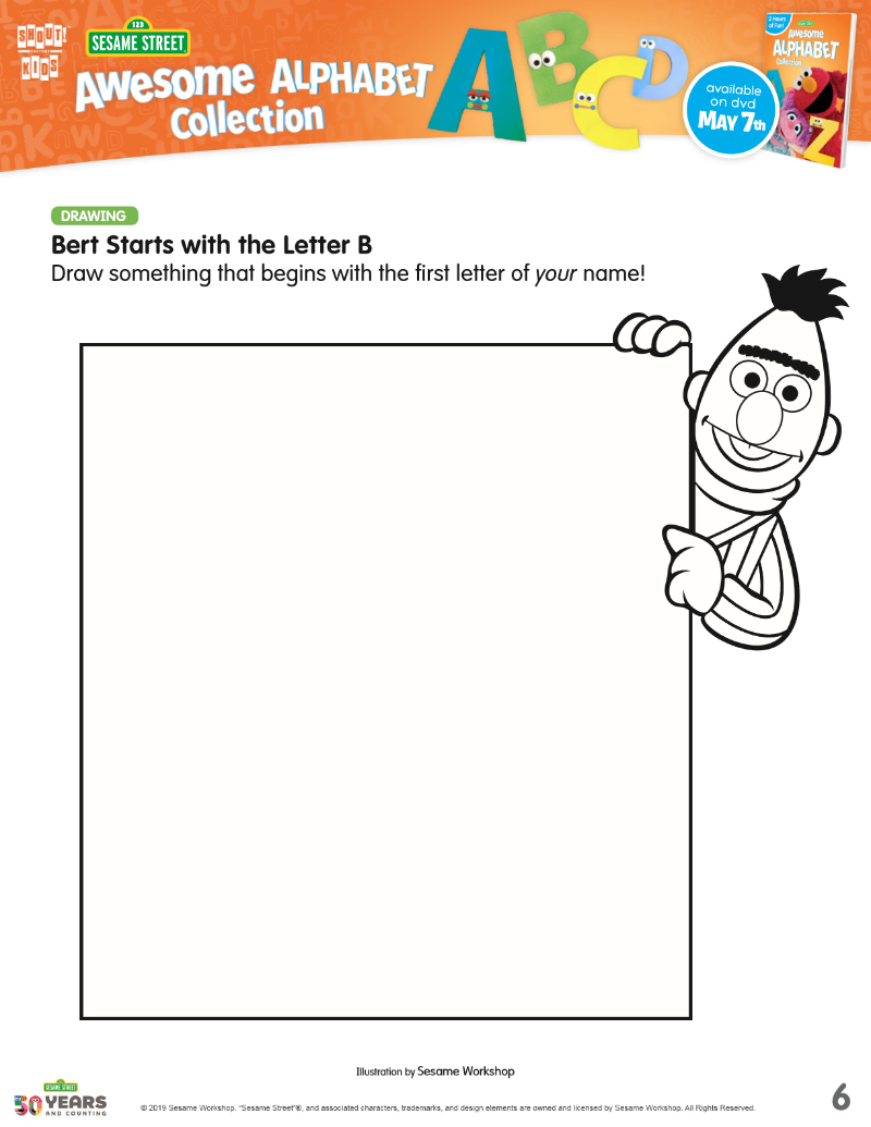 pin bert coloring page