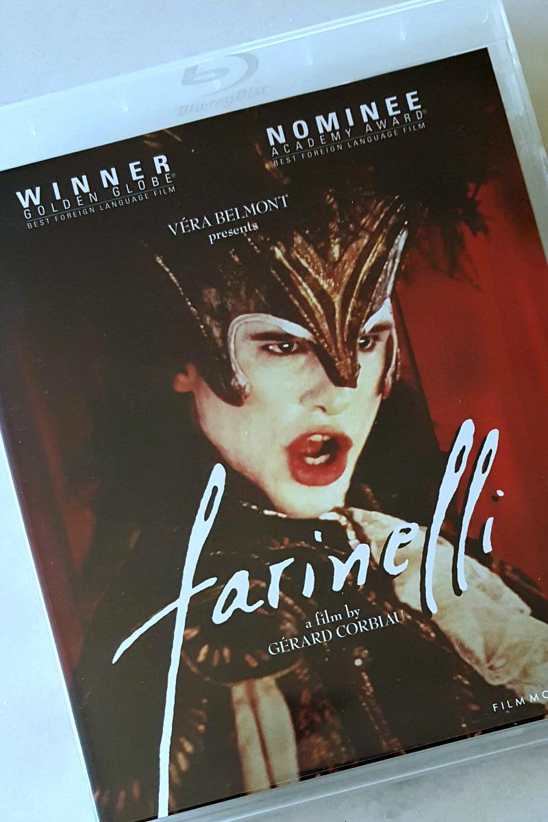 Farinelli Blu-ray - Farinelli il Crastrato Movie