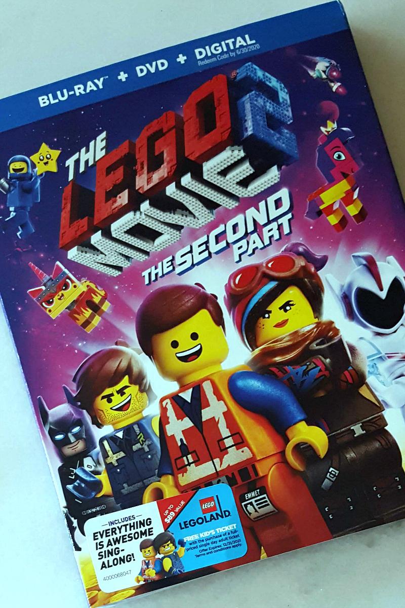 pin lego movie 2 bluray dvd