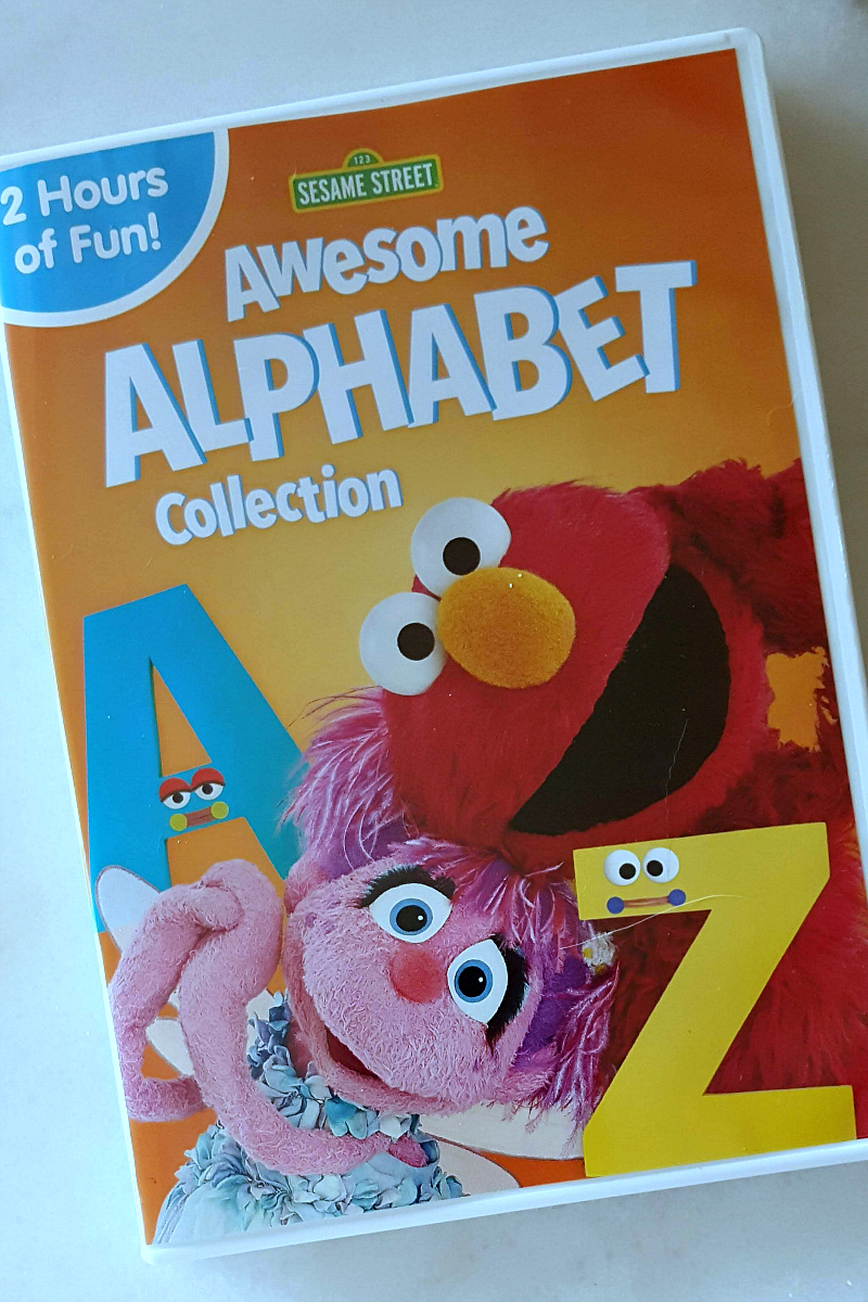 pin sesame street alphabet dvd collection elmo