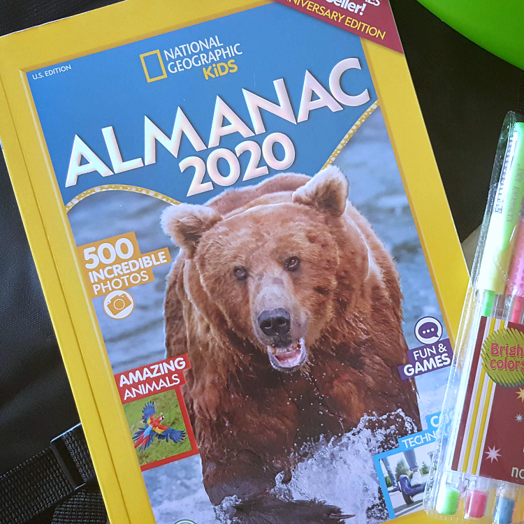 2020 national geographic kids almanac book