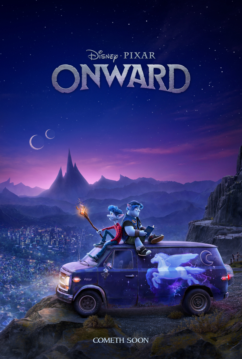 Disney Onward first look movie poster