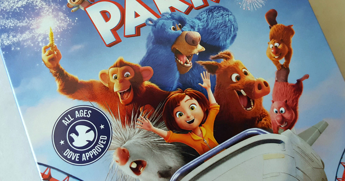 characters on cover of wonder park blu-ray