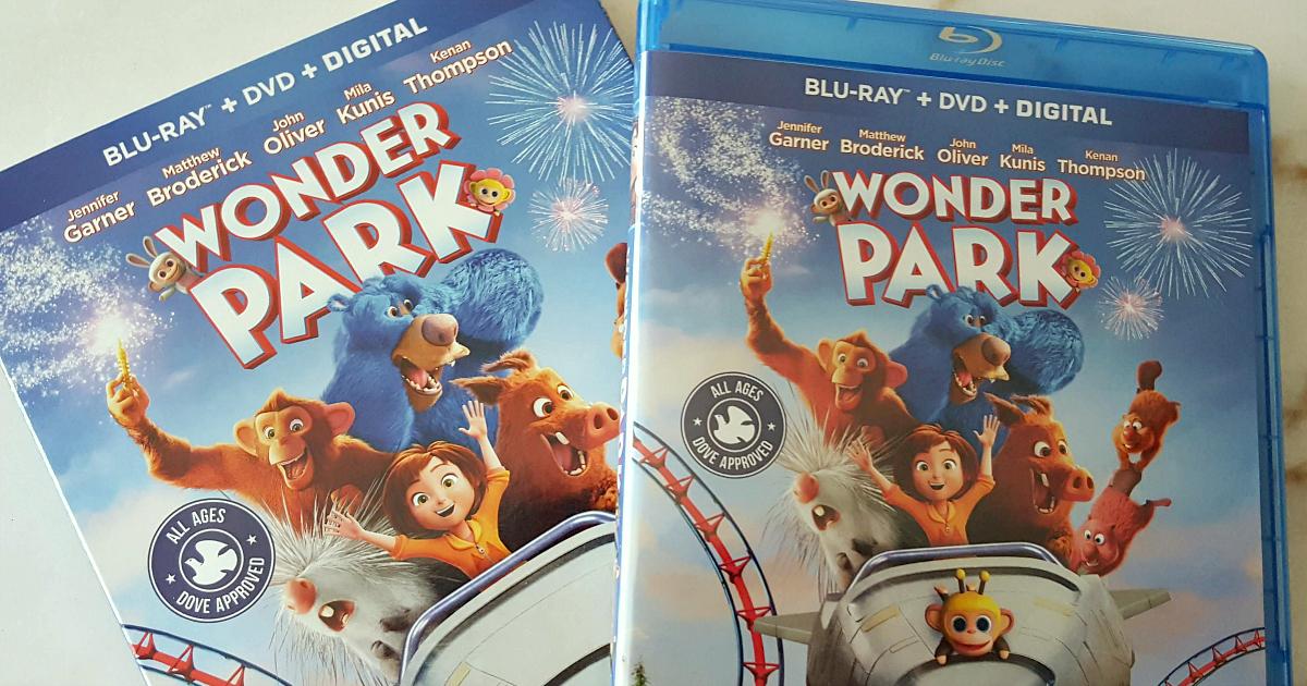 feature wonder park movie blu-ray