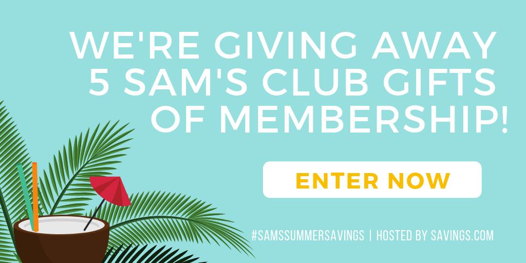 giveaway sams club membership