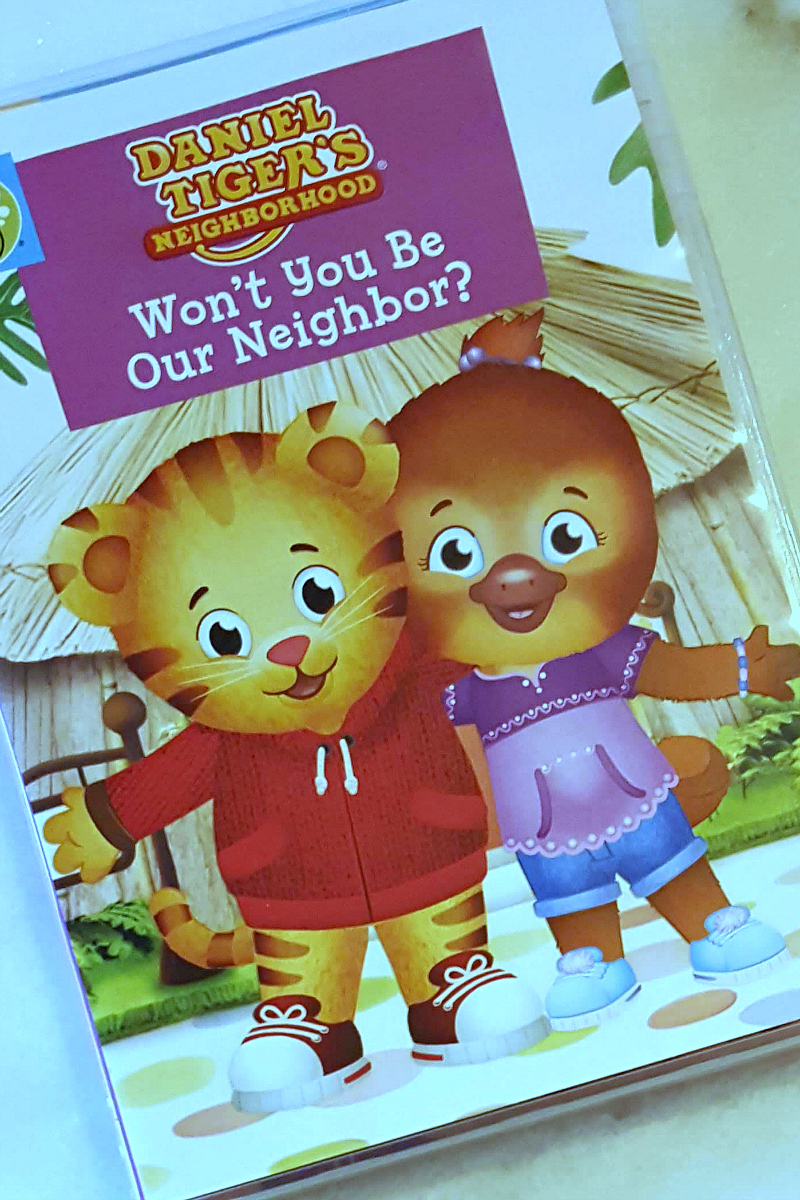 pin daniel tiger dvd neighbor