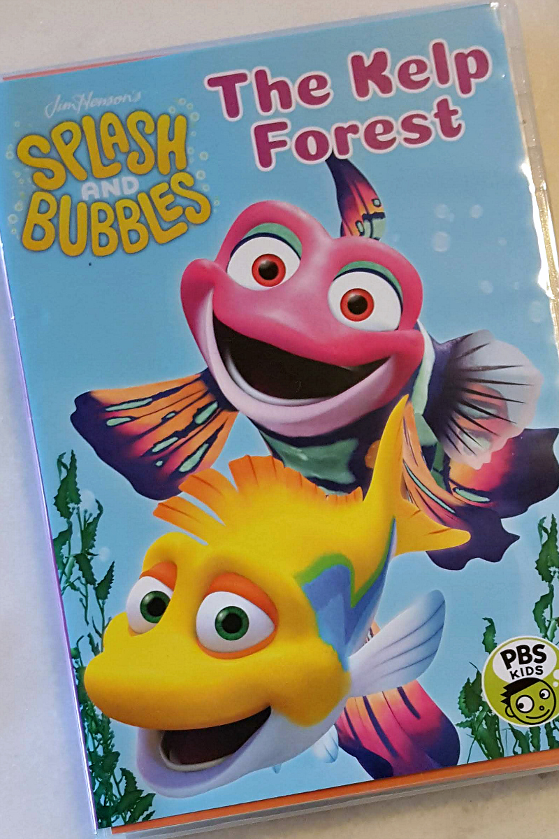 pin splash and bubbles dvd