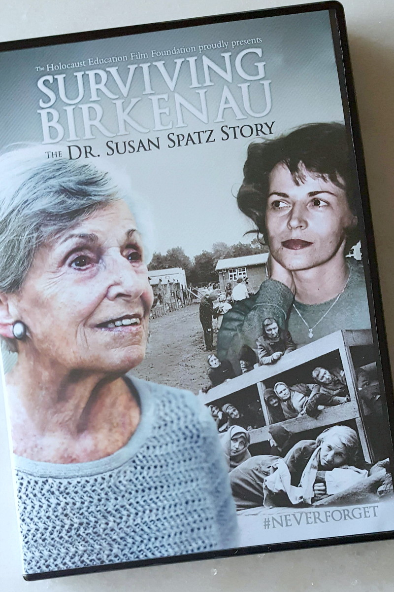 pin susan spatz surviving birkenau dvd