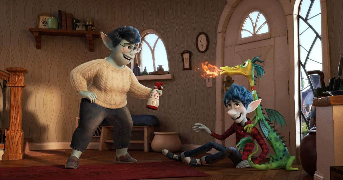 pixar onward bad dragon
