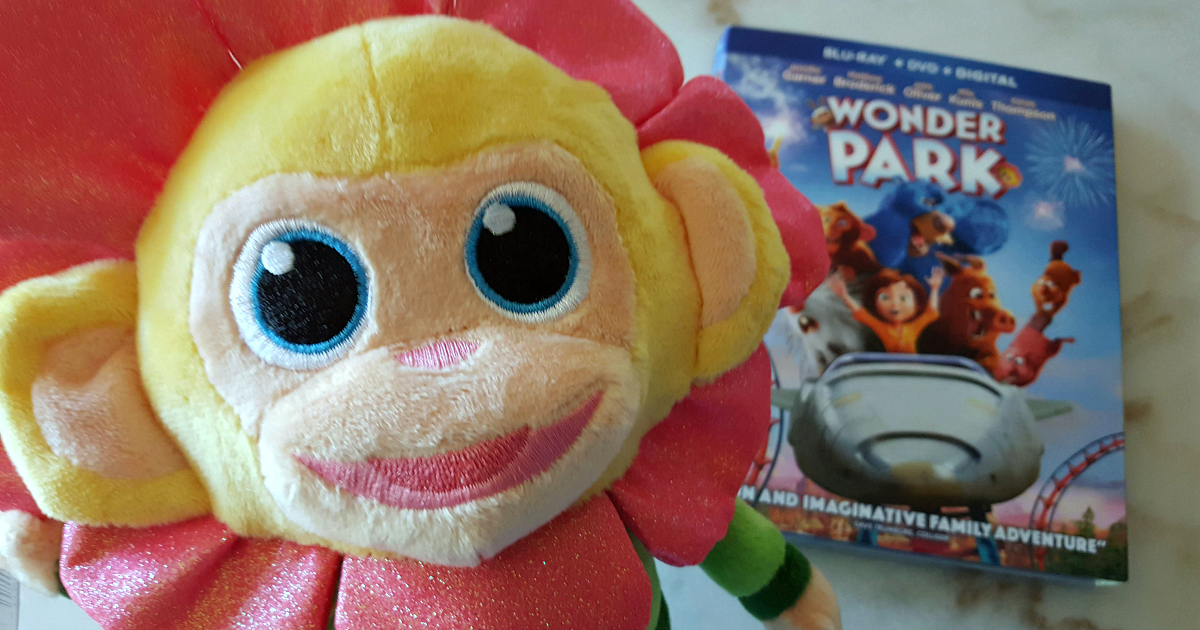 plush toy character from wonder park