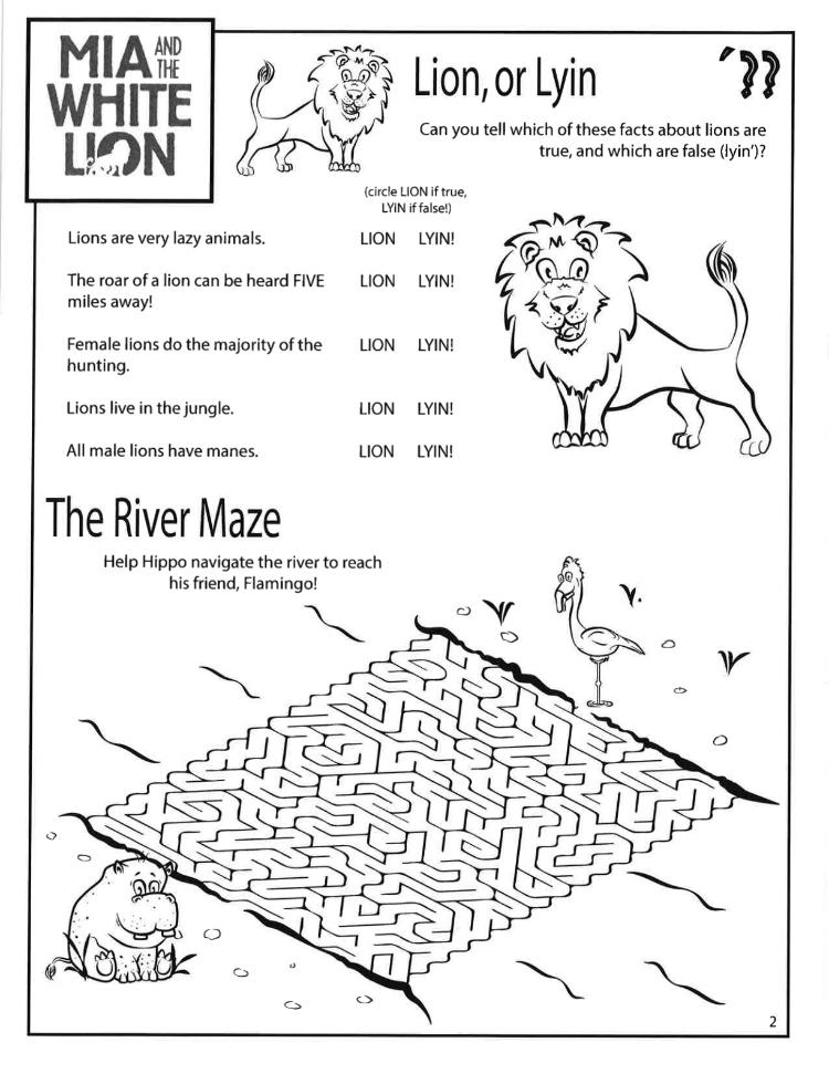 3 Lion or Lyin