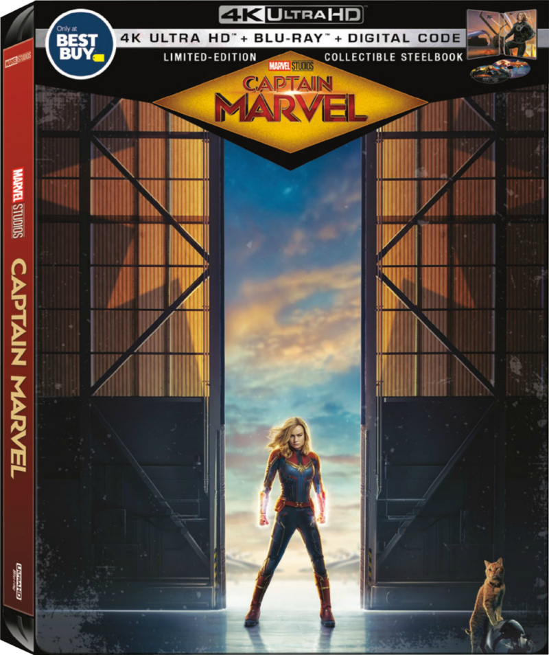 steelbook case for captain marvel