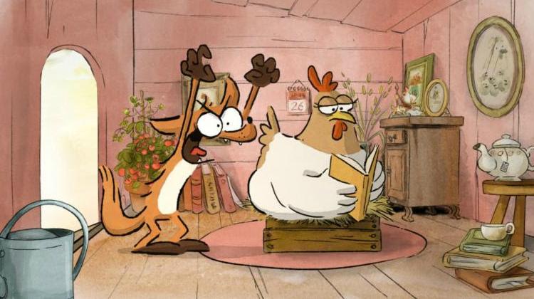 big bad fox and hen