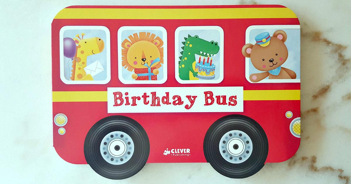 board book birthday bus