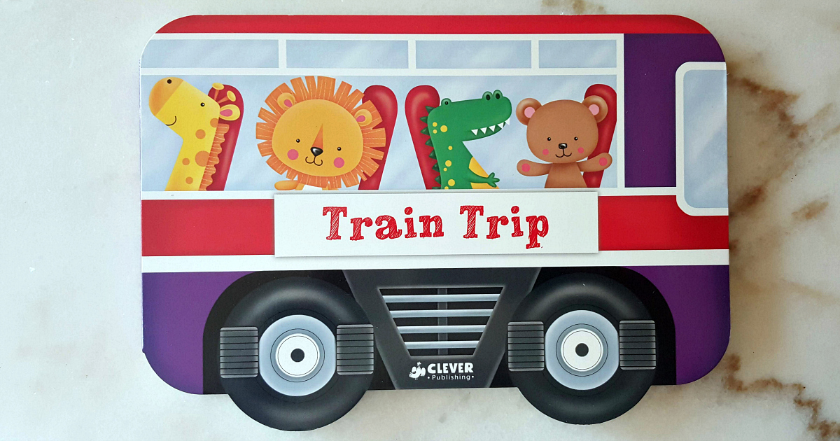 board book train trip