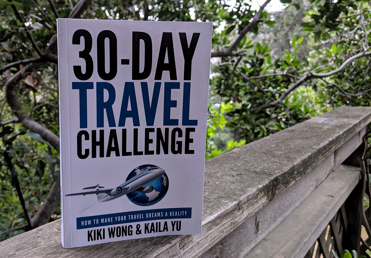book 30 day travel challenge