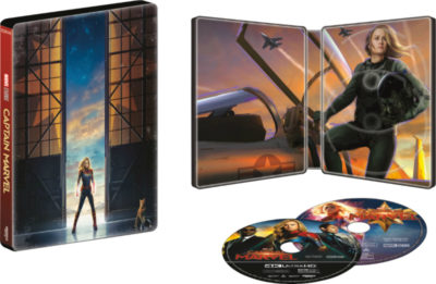 best buy captain marvel steelbook