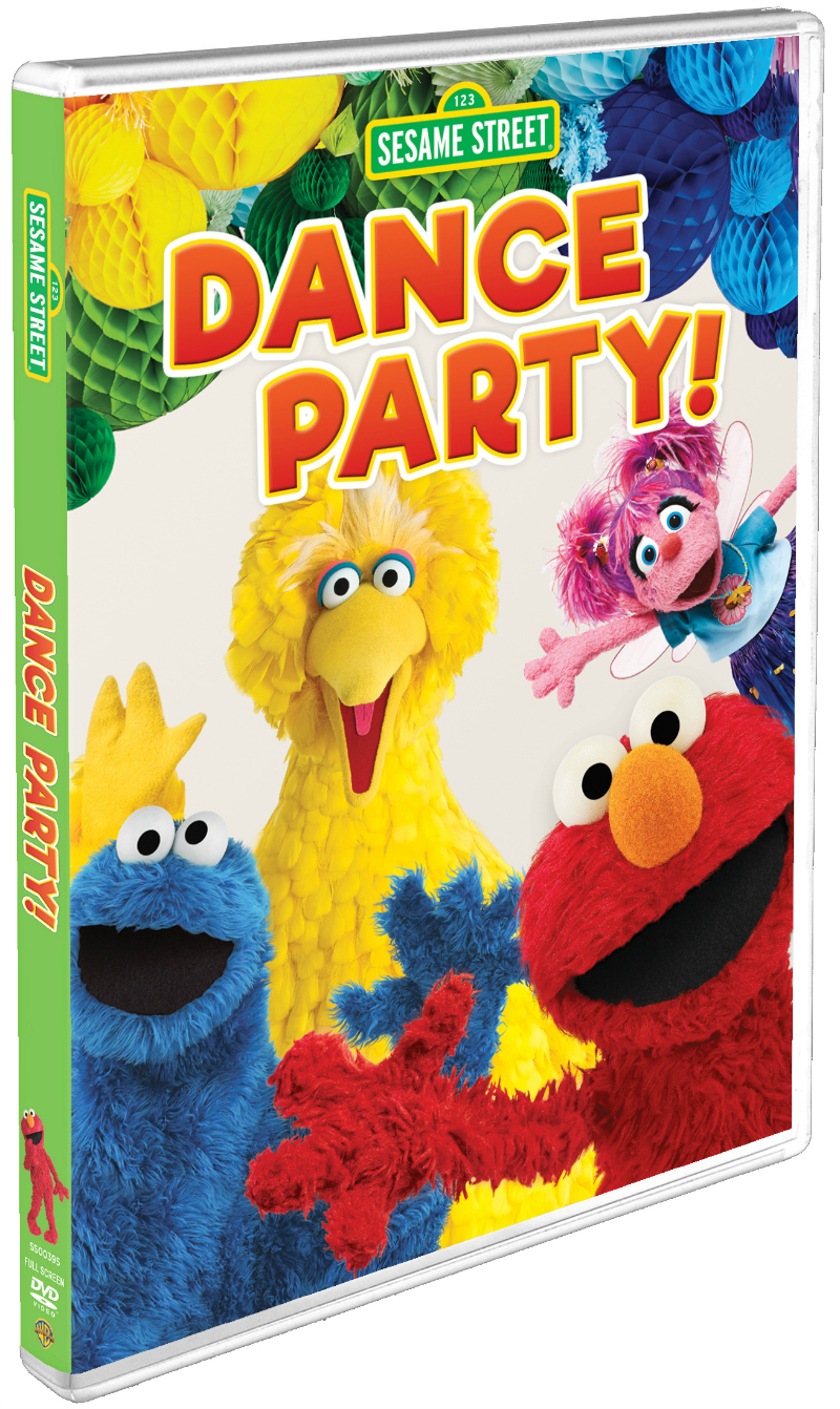 dance party dvd sesame street