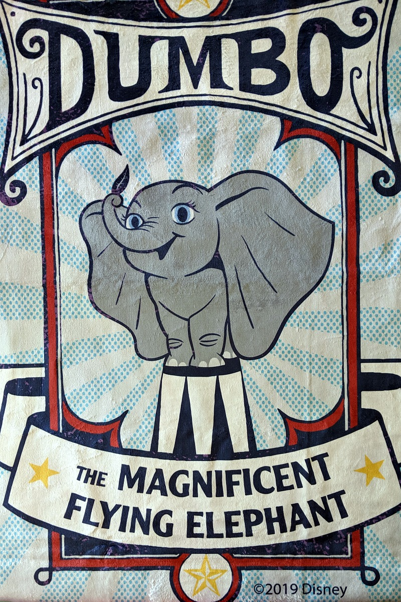 disney dumbo beach towel