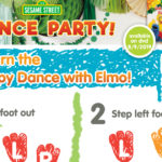 Elmo Dance Instructions for Kids