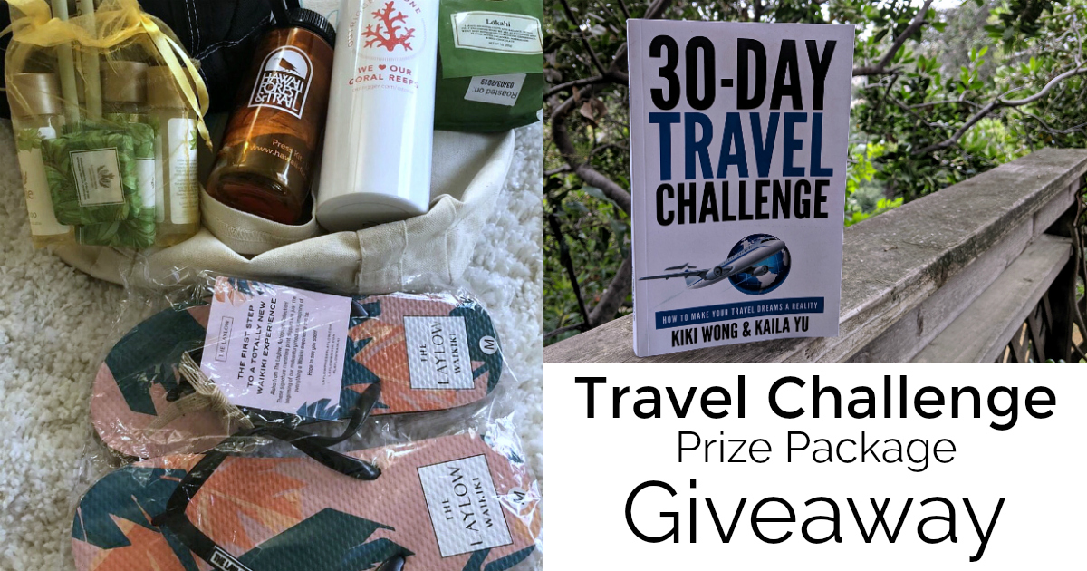 feature travel challenge prize package giveaway