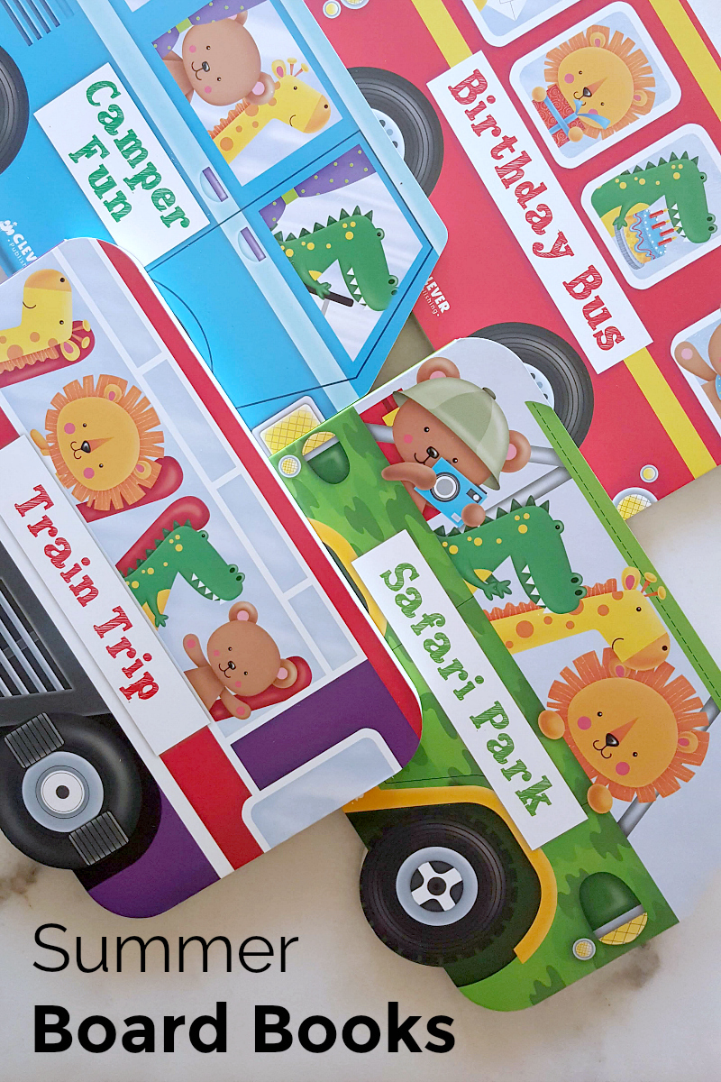 four summer board books for preschoolers