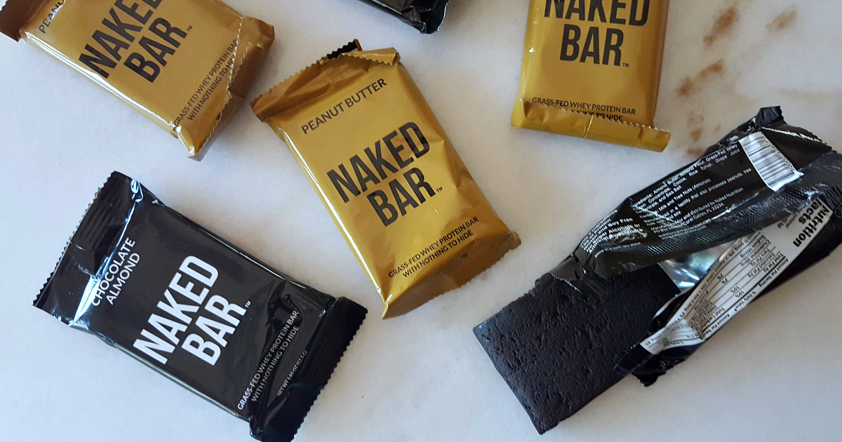 naked bar nutritional bars