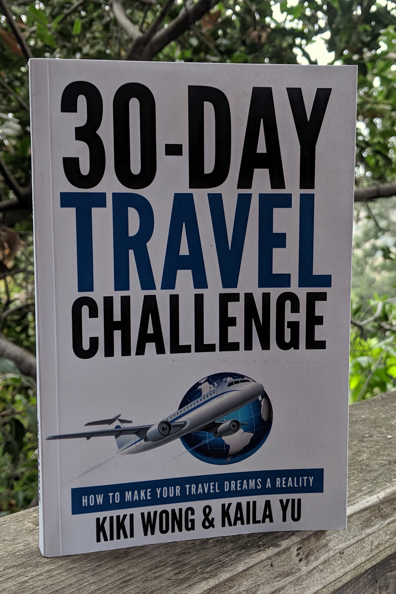 pin 30 day travel challenge book