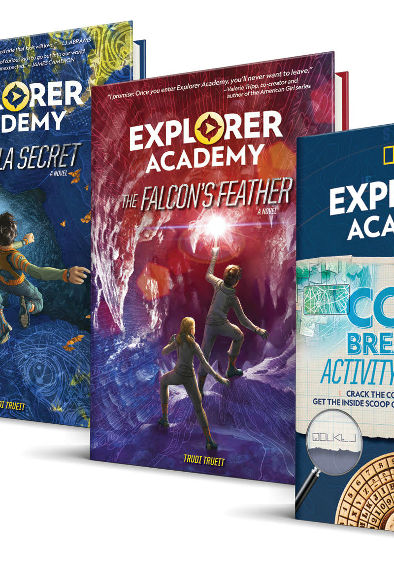 pin explorer academy books
