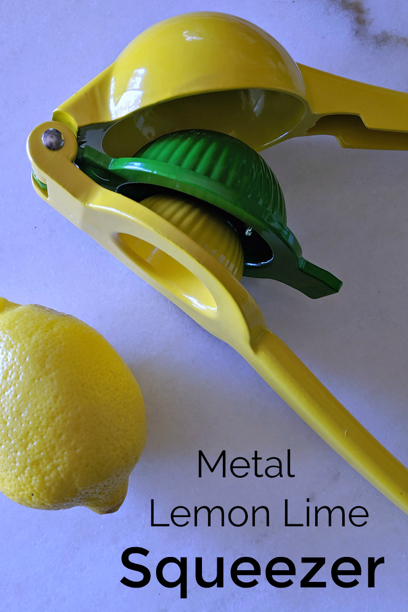 pin metal lemon lime squeezer