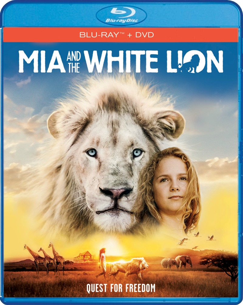 Mia and The White Lion Blu-ray + DVD