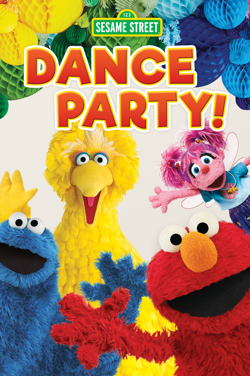 pin sesame street dance party dvd