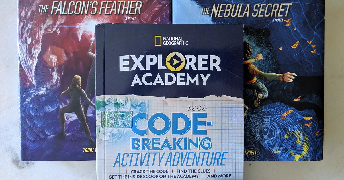 3 explorer academy books