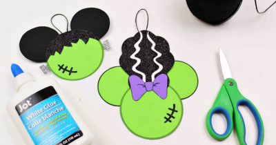 disney halloween frankenstein craft