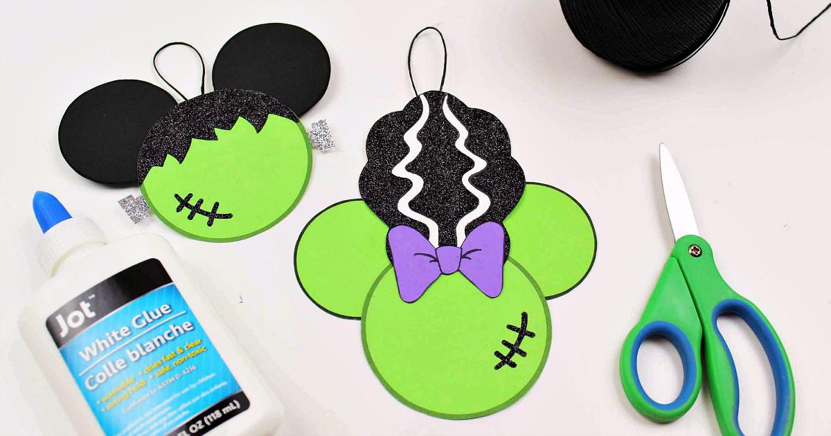 Free Printable Disney Halloween Frankenstein Craft Mama