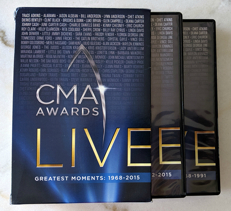 dvd box set cma awards live greatest moments