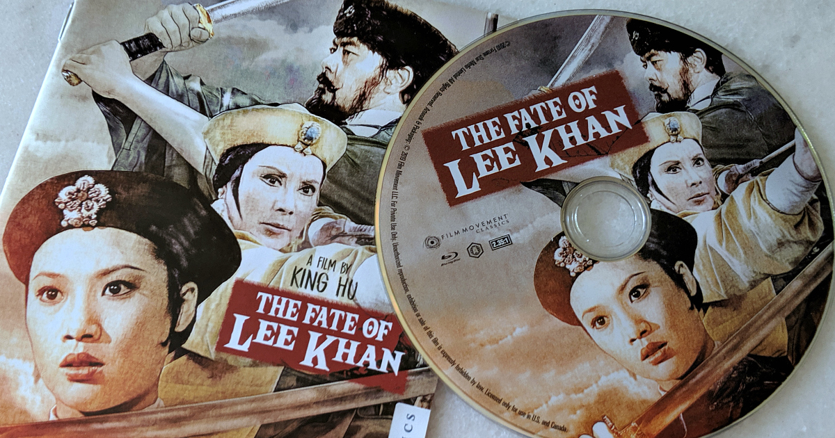 fate of lee khan dvd and booklet