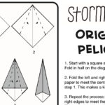 Pelican Origami Tutorial with Printable Instructions