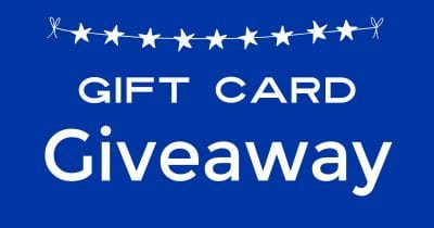 gift card giveaway.
