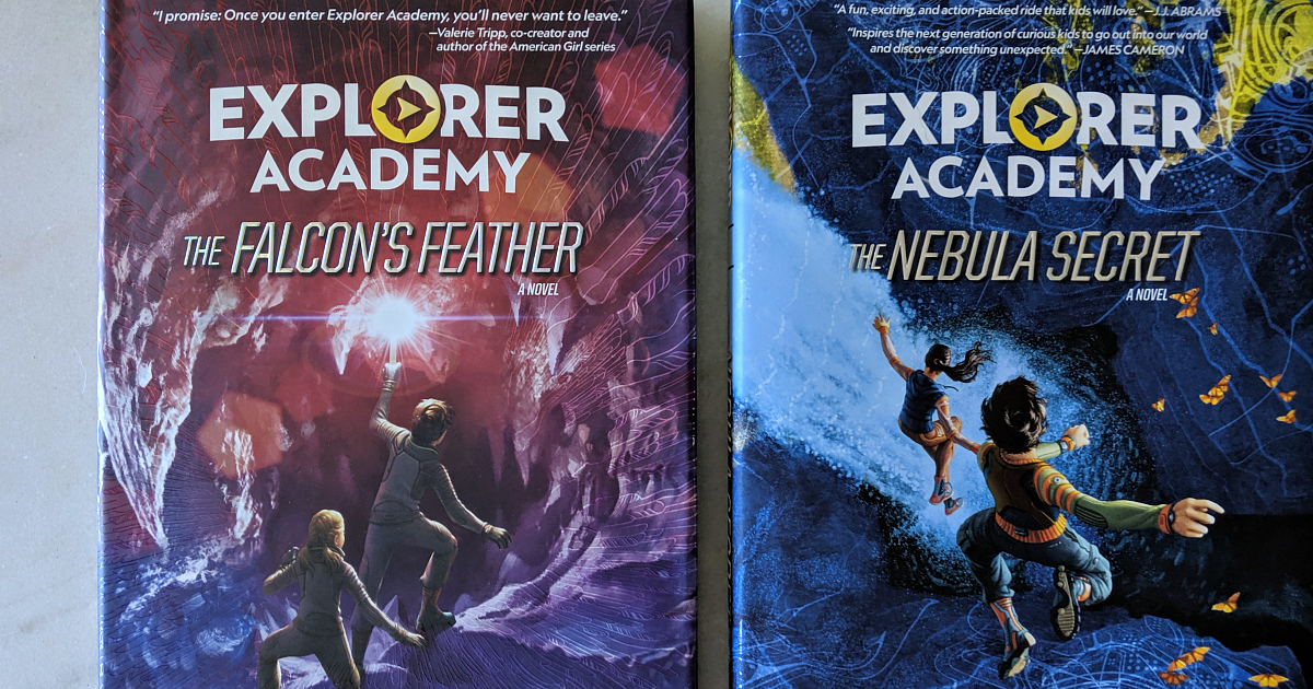 hardcover explorer academy books