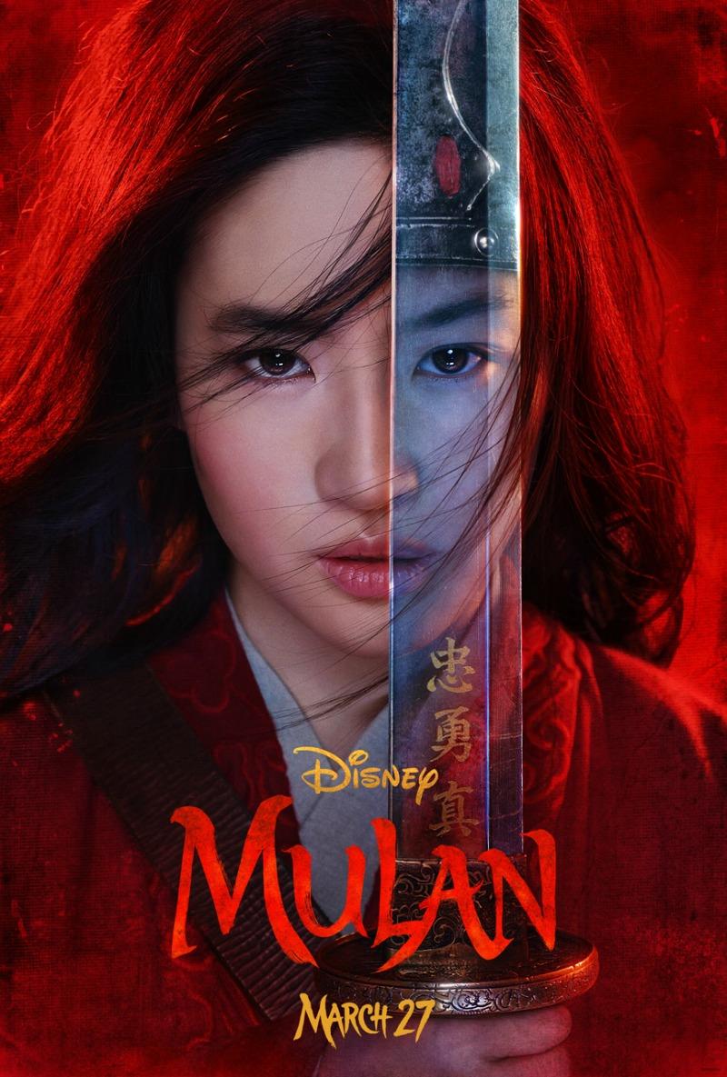live action mulan poster