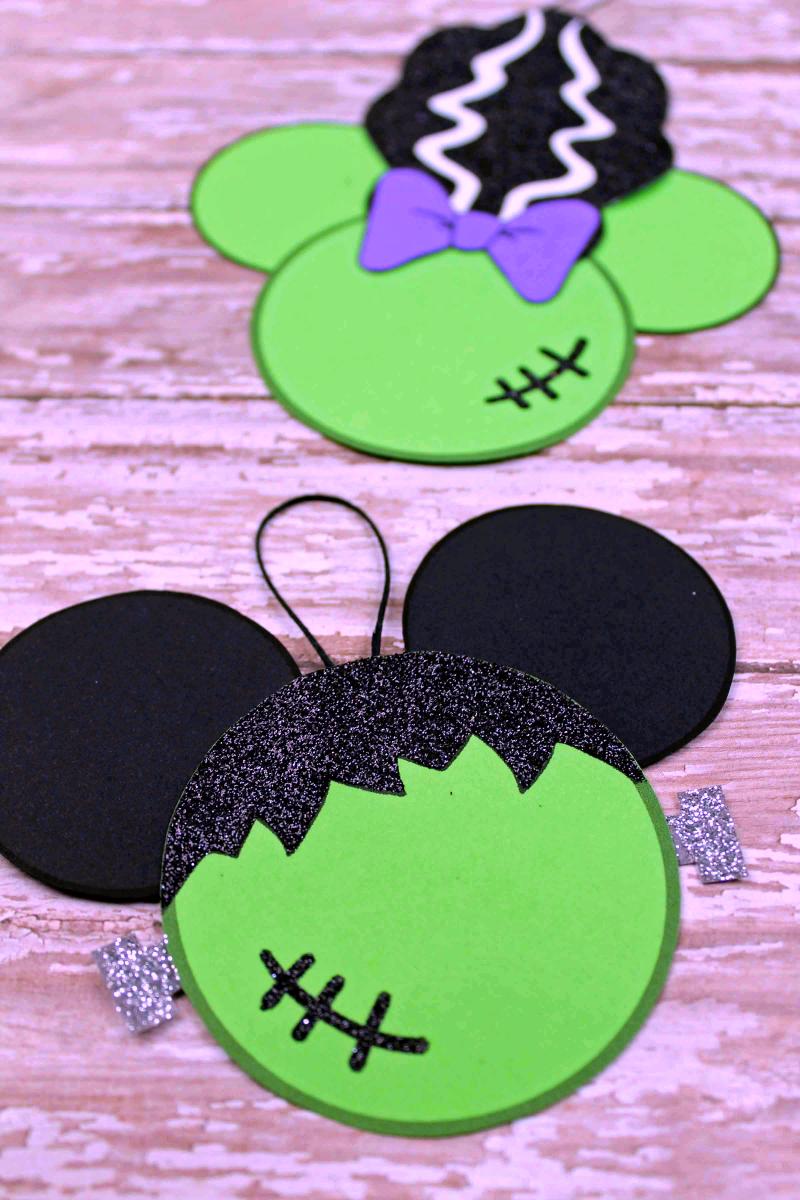 mickey and minnie halloween ornaments