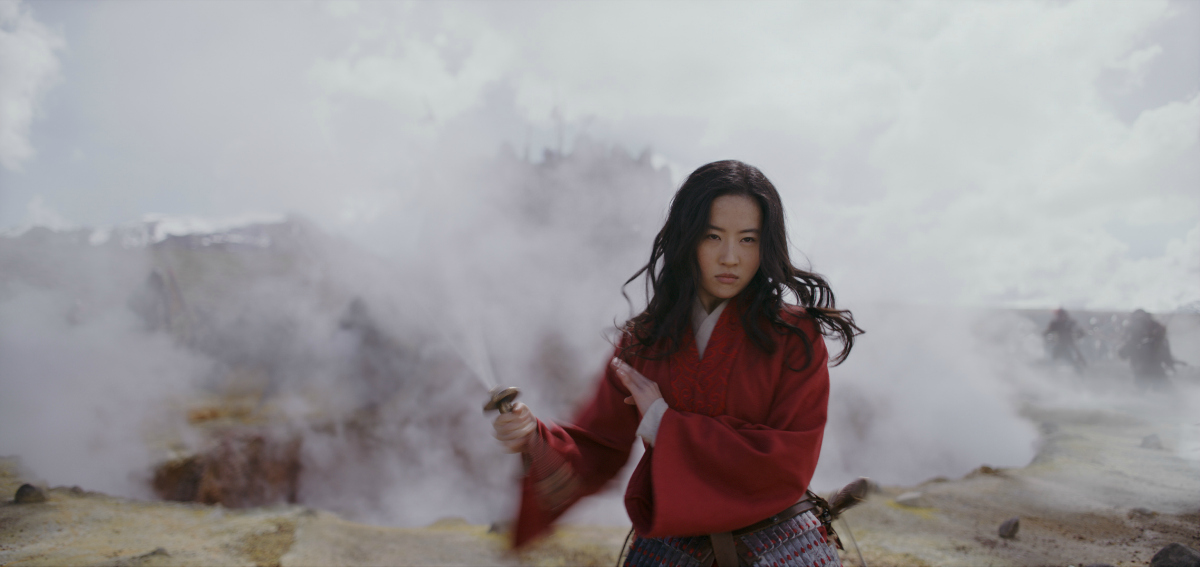 movie scene from live action mulan