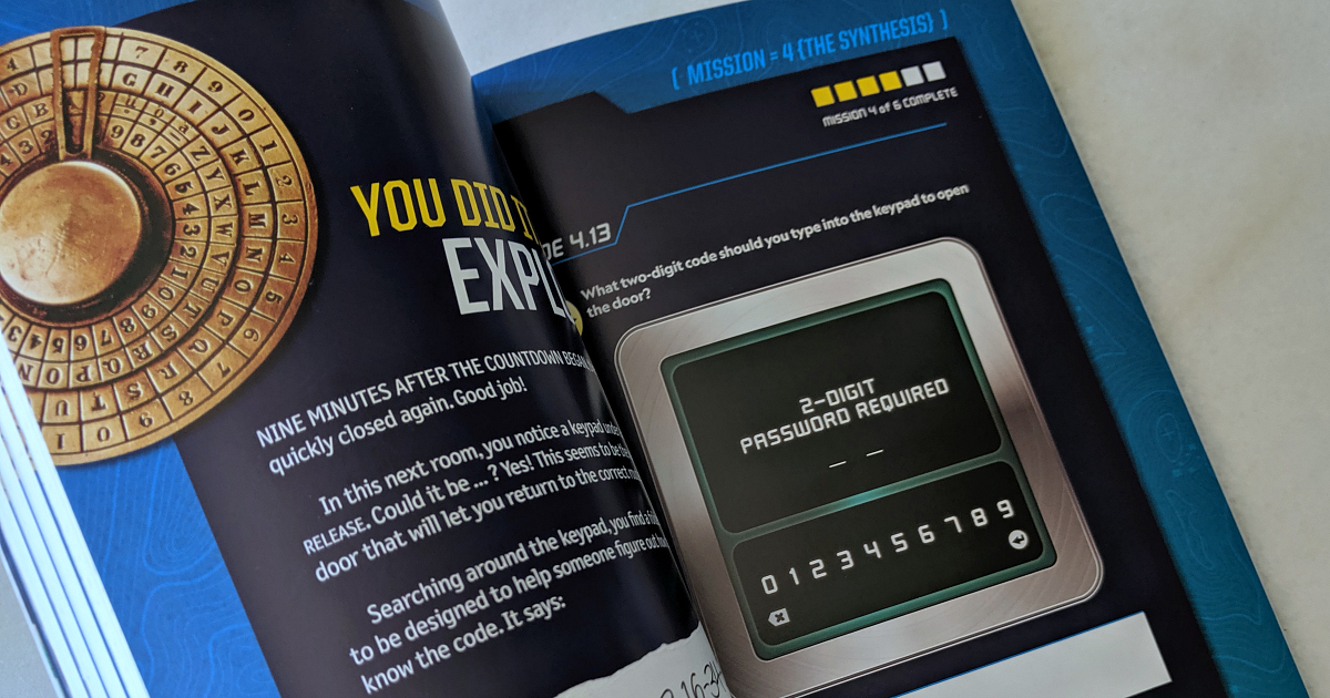 nat geo codebreaker book