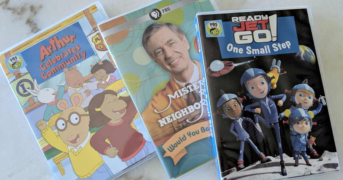 pbs kids summer dvds